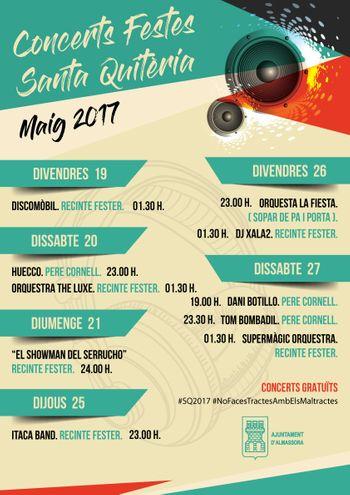 Concerts Santa Quitèria 2017