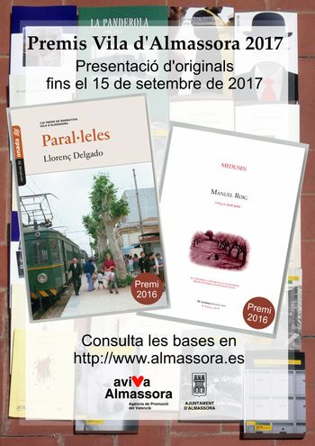 Cartel premios Vila de Almassora 2017