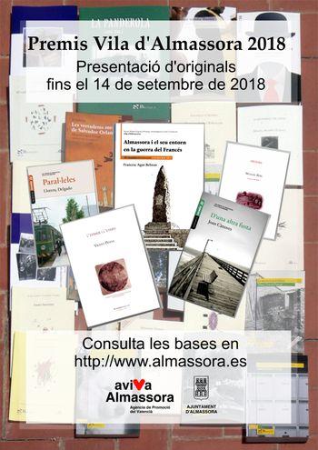 cartell Premis Vila d'Almassora 2018