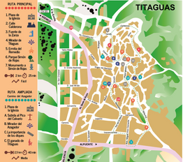 Titaguas - Ruta turística de patrimonio urbano